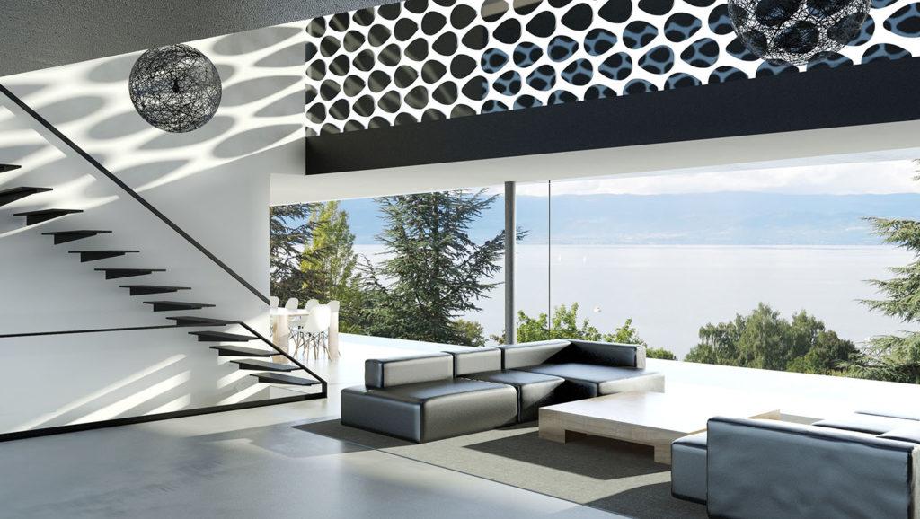 Maison contemporaine proche du lac d'Annecy - Pierre Minassian