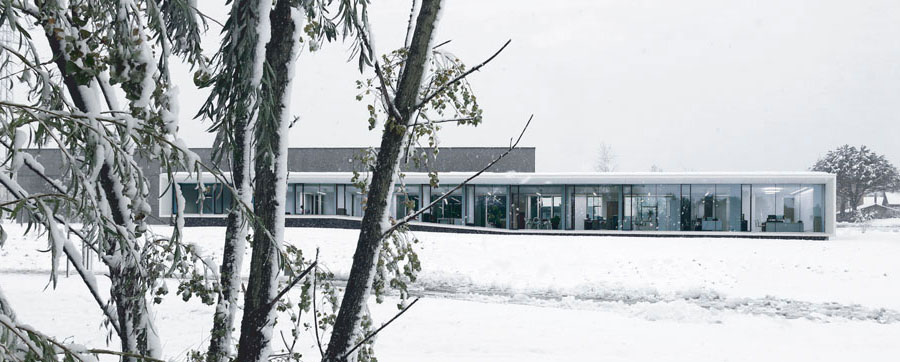 Maison contemporaine aseptic pierre minassian architecte haute savoie