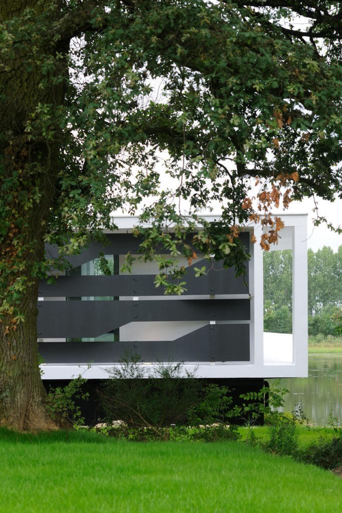 Maison contemporaine intégration paysage conçue par un architecte à Lyon