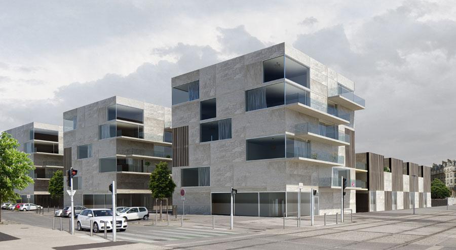 Pierre Minassian architecture minimaliste materiaux bruts logements contemporains - Annecy haute savoie