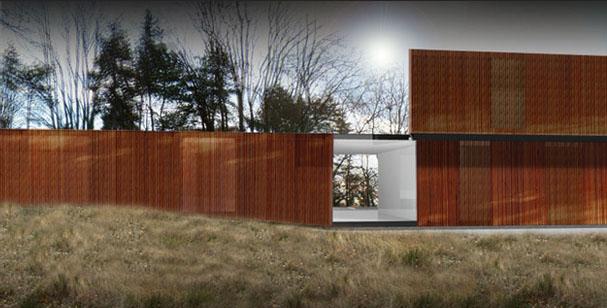 Pierre Minassian maison moderne structure bois