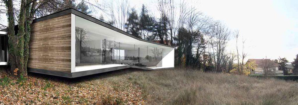 maisons contempraines structure bois a annecy menton saint bernard limetree house