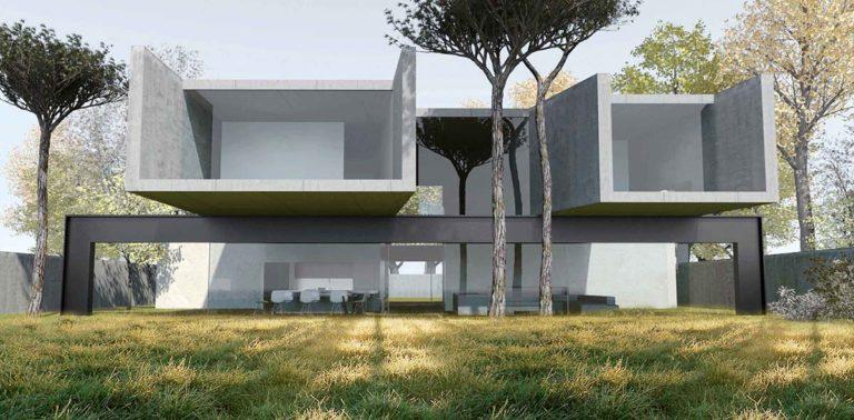 maison k maison contemporaine