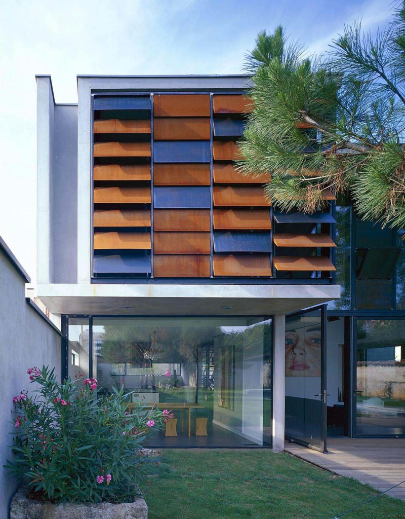 maisons contemporaines maison de ville en beton et acier lyon 69 maison seven