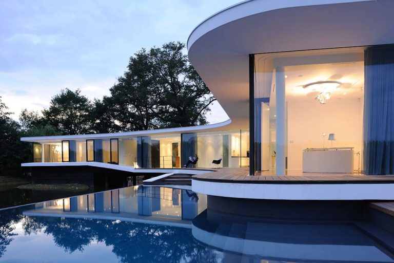 maison contemporaine pierre minassian architecte en beton brut white snake house