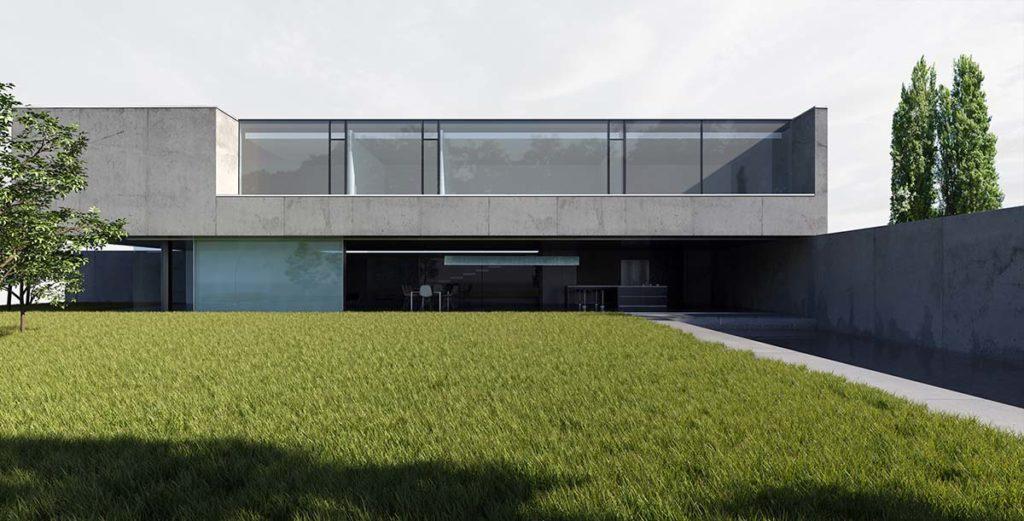 pierre minassian architecte de maison contemporaine en beton brut a lyon 69